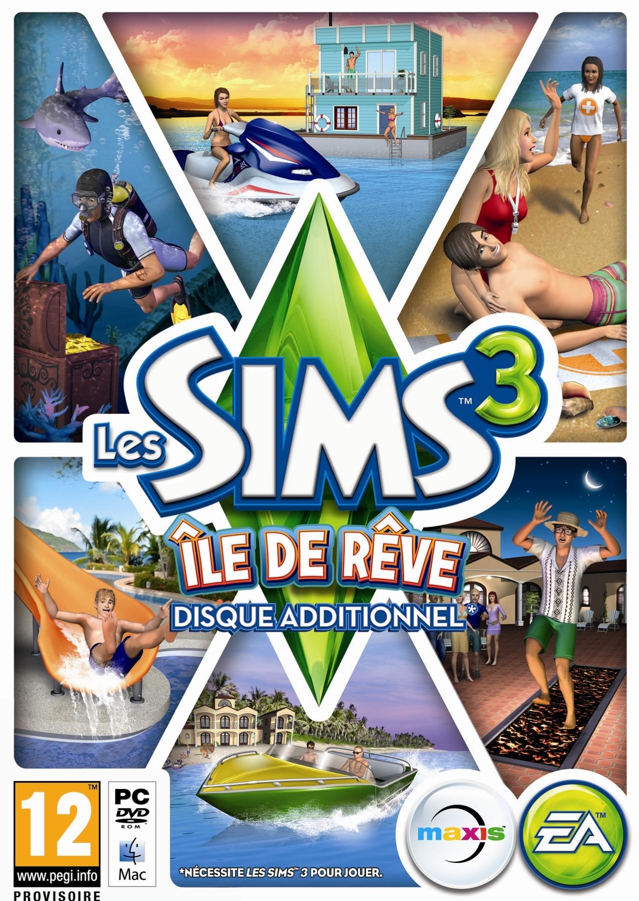 Les Sims 3 : Ile de Rêve [PC] [MULTI]