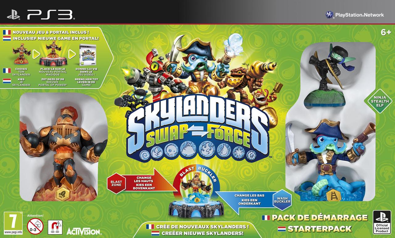 skylanders swap force sur playstation 3 jeuxvideocom
