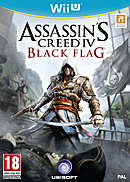 Jaquette Assassin's Creed IV : Black Flag - Wii U
