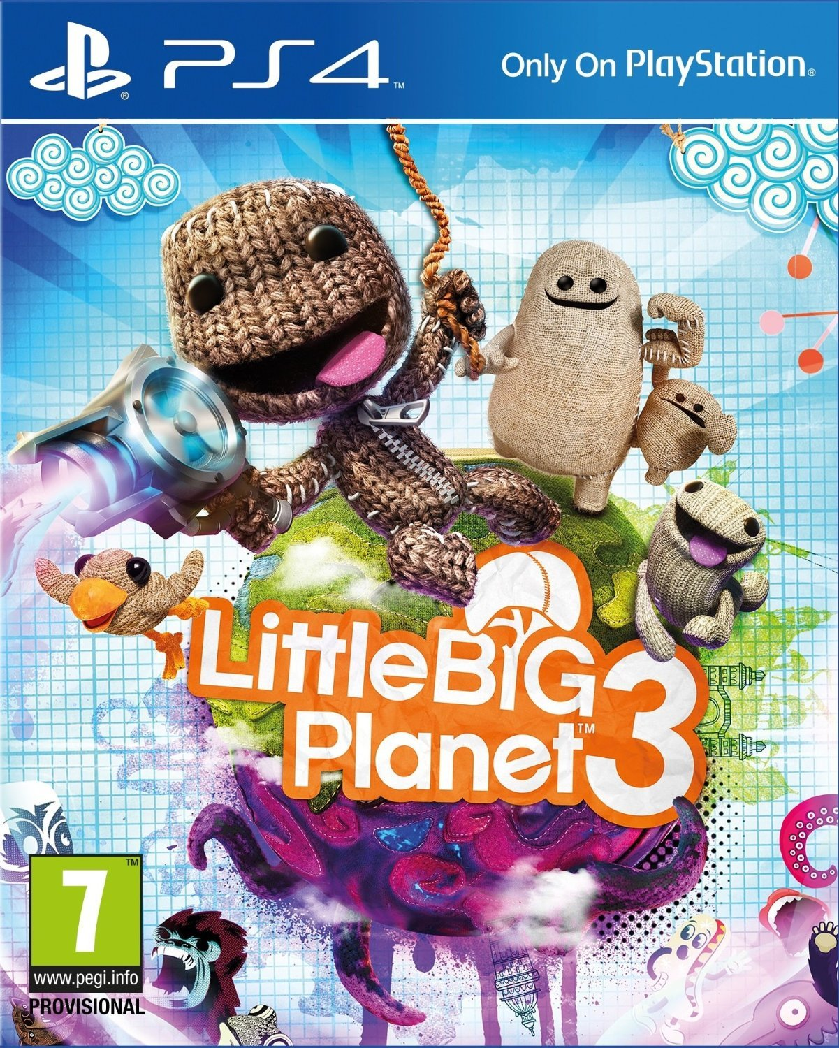 littlebigplanet 3 sur playstation 4. Black Bedroom Furniture Sets. Home Design Ideas