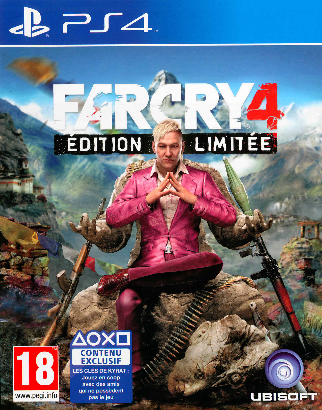 far cry 4 sur playstation 4. Black Bedroom Furniture Sets. Home Design Ideas