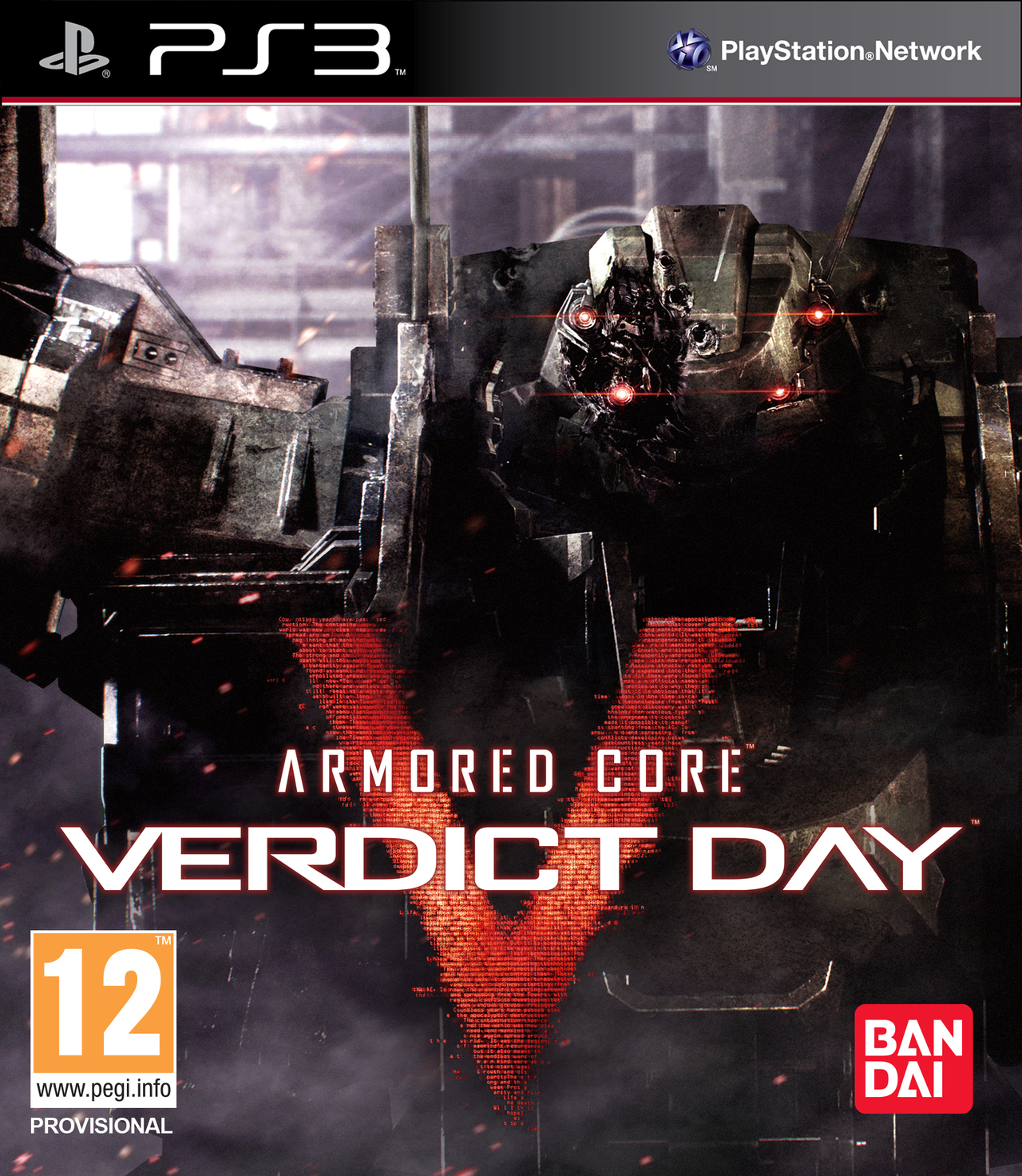 Armored Core : Verdict Day [Anglais] [PlayStation 3] [PAL]