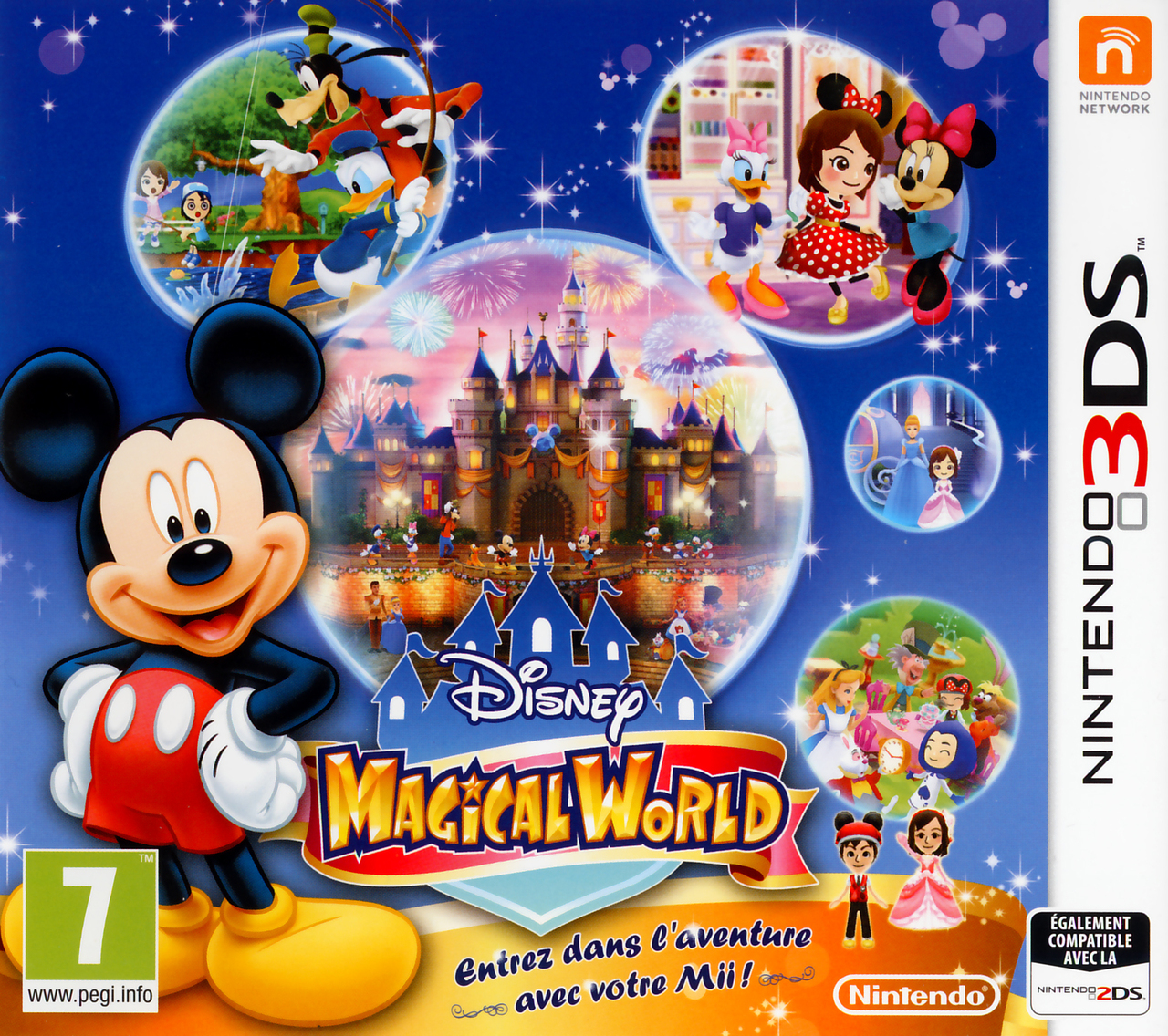 disney magical world sur nintendo 3ds. Black Bedroom Furniture Sets. Home Design Ideas
