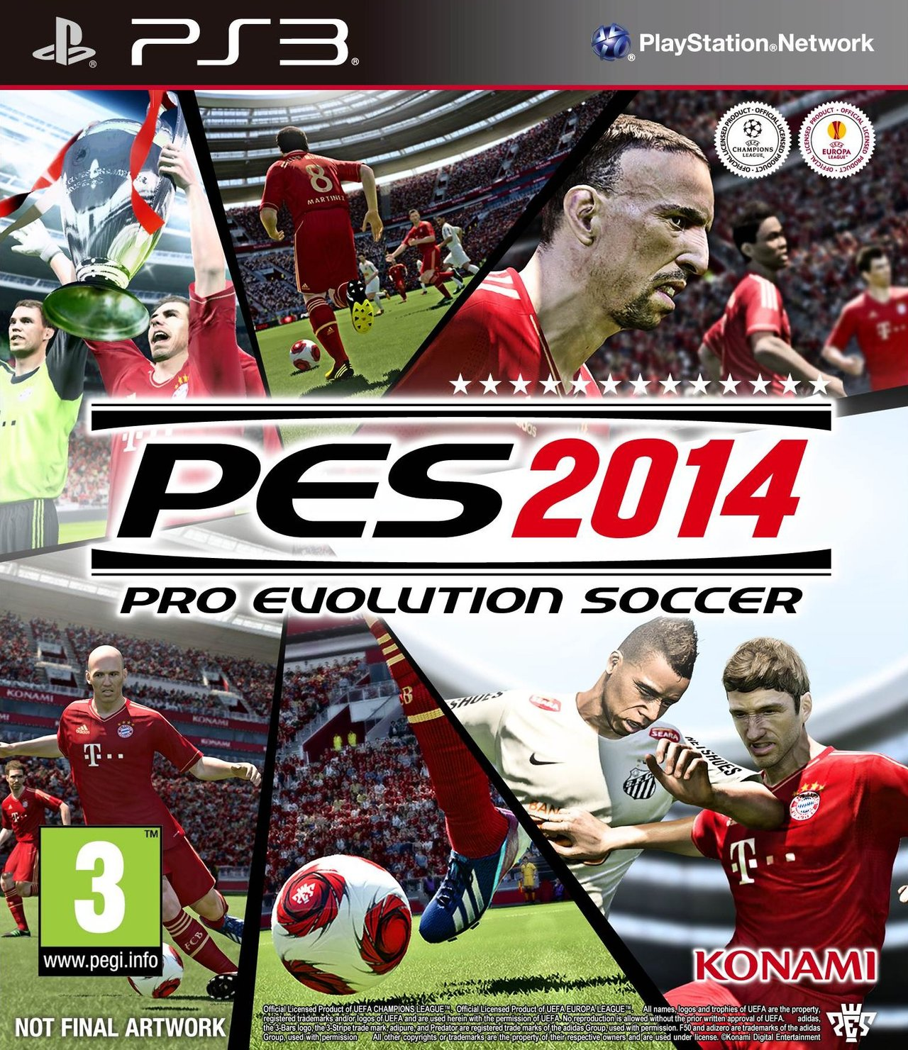 [Multi] Pro Evolution Soccer 2014 PS3