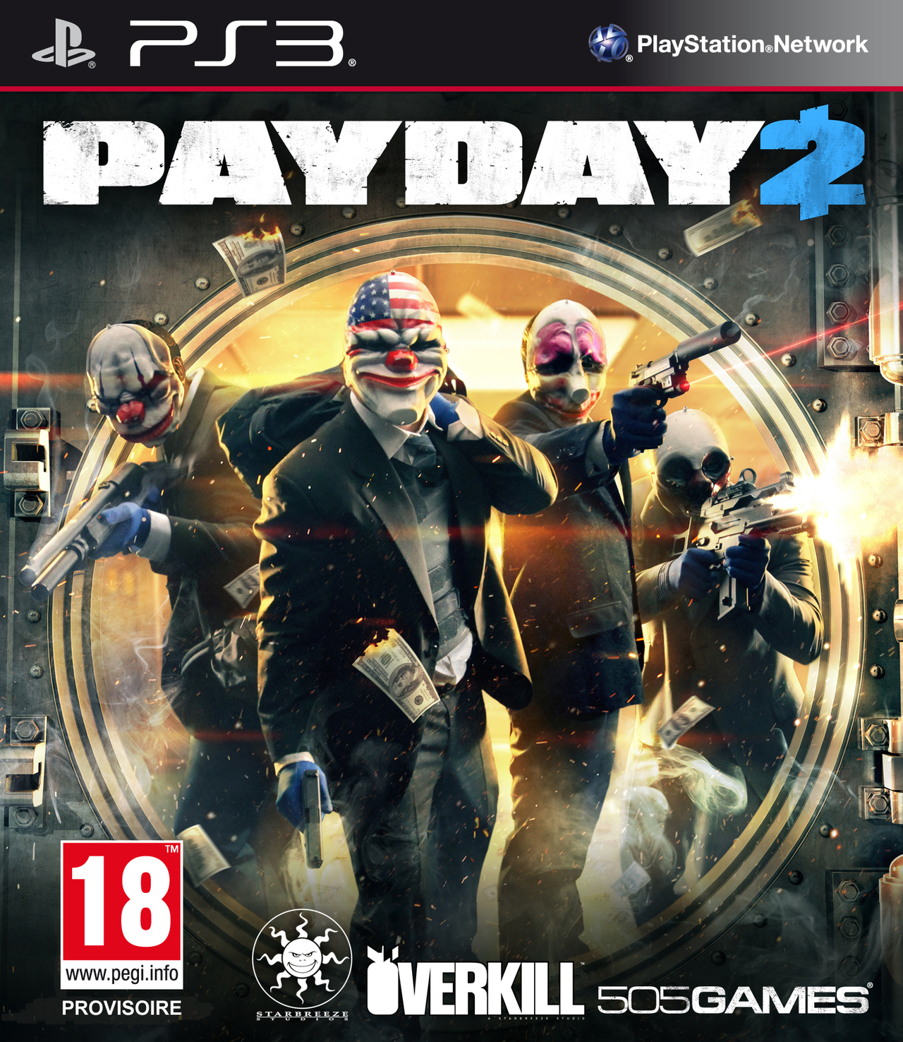 [Multi] Payday 2 PS3