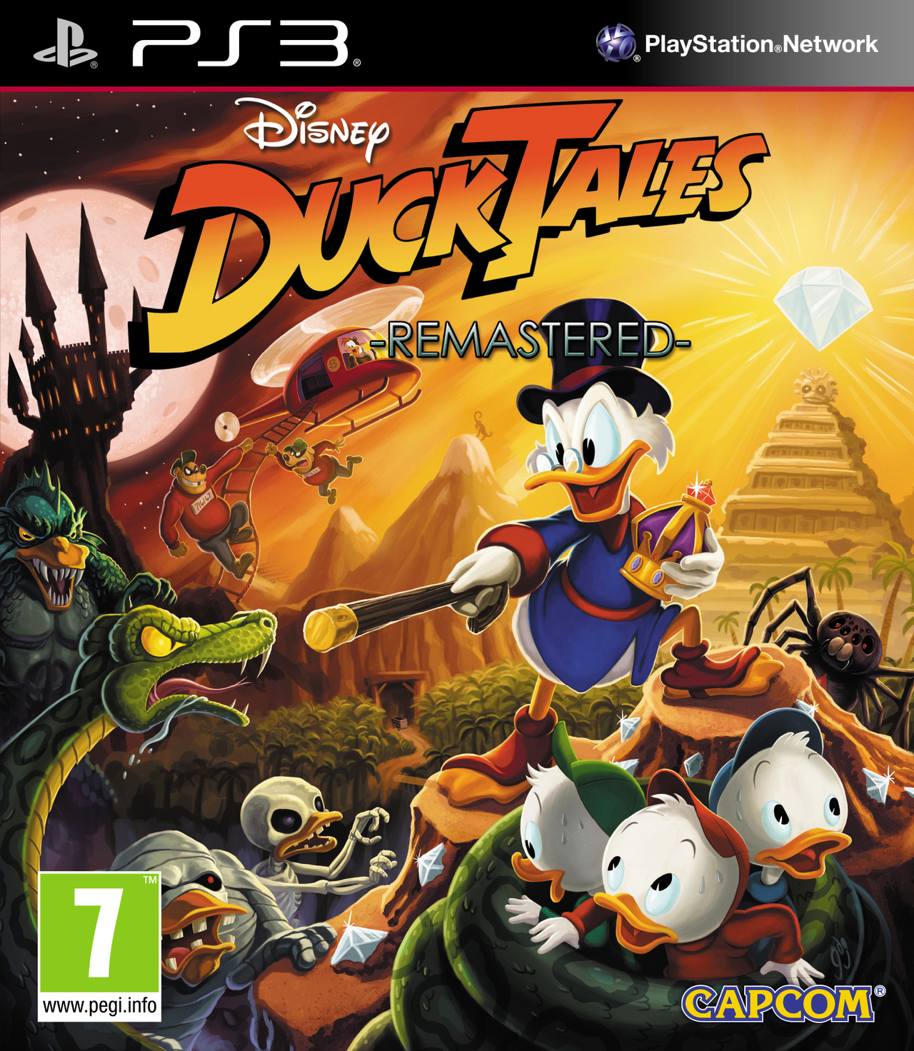 Disney Games For Ps3 : Ducktales remastered sur playstation jeuxvideo
