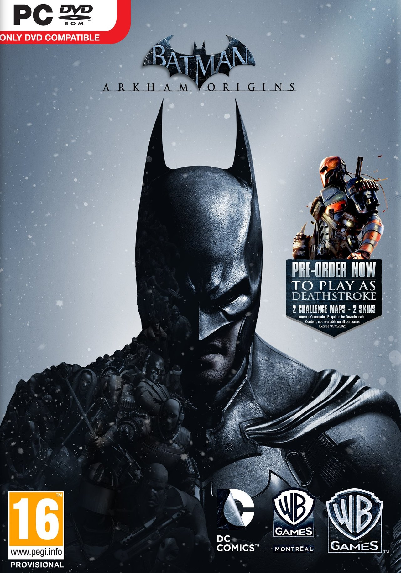 Batman Arkham Origins  [FRENCH l MULTI]