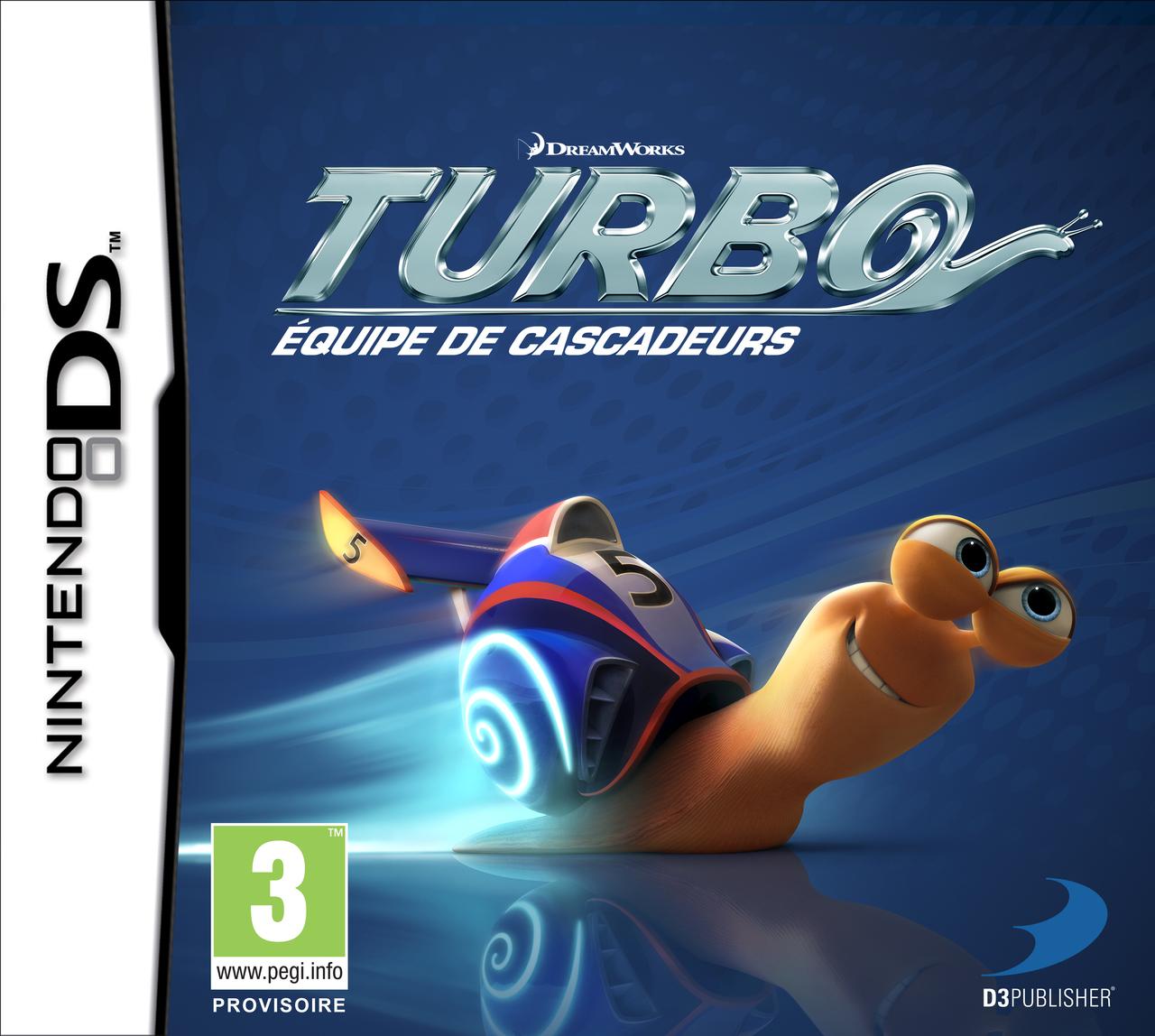 Turbo : Equipe de Cascadeurs [Nintendo DS] [EUR] [MULTiLANGUES]
