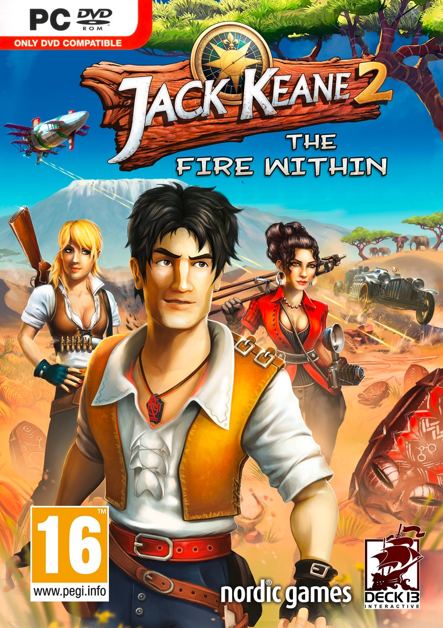 Jack Keane 2 : The Fire Within