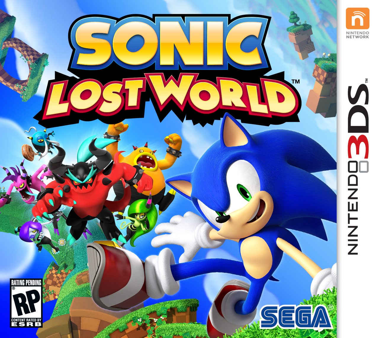 sonic lost world sur nintendo 3ds. Black Bedroom Furniture Sets. Home Design Ideas