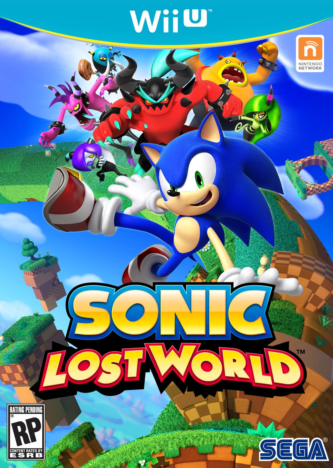 Wii U Game Trailer : Sonic lost world sur wii u jeuxvideo