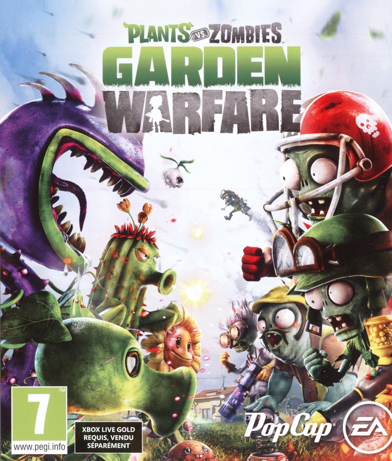 Plants vs zombies garden warfare sur xbox one - Plants vs zombies garden warfare videos ...