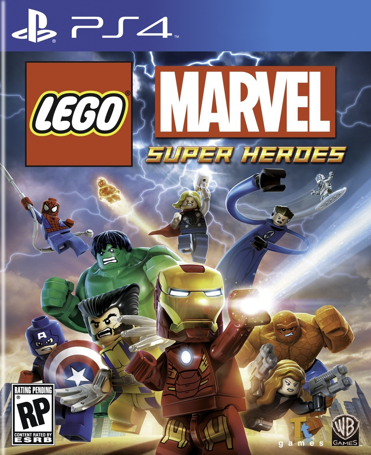 lego marvel super heroes sur playstation 4. Black Bedroom Furniture Sets. Home Design Ideas