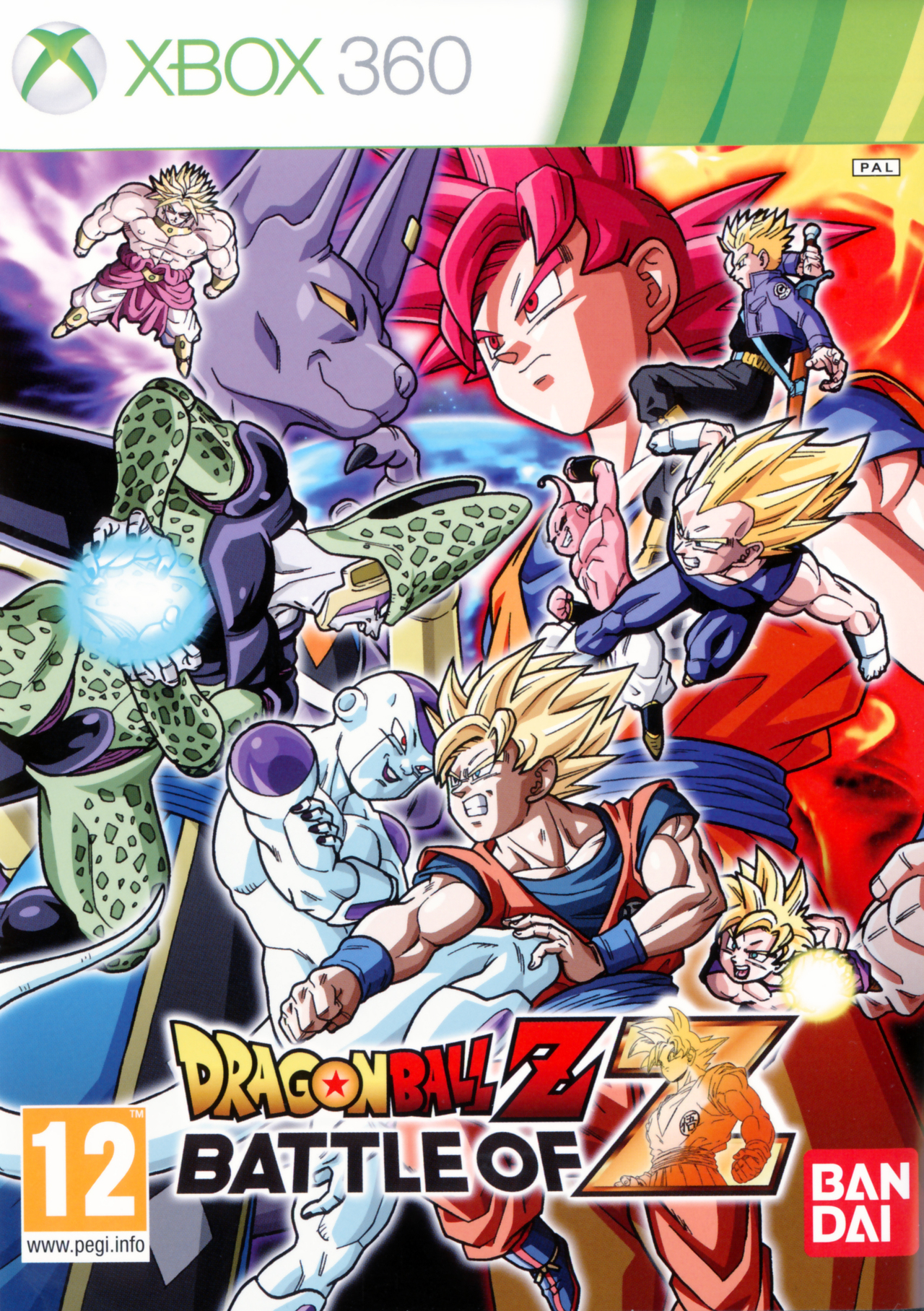 Dragon ball z battle of z sur xbox 360 - Jeux info dragon ball z ...