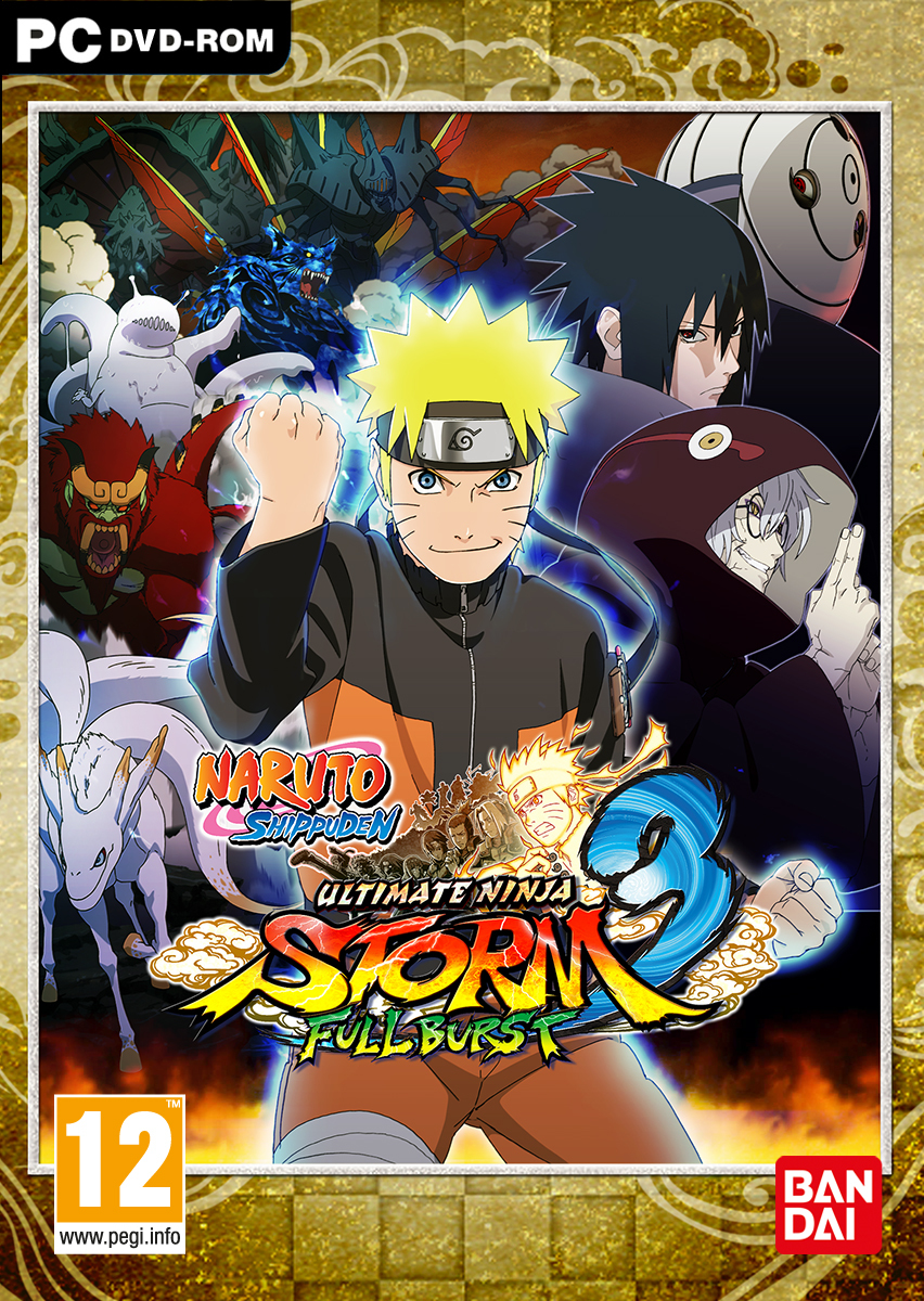 Naruto Shippuden : Ultimate Ninja Storm 3 : Full Burst [MULTI]