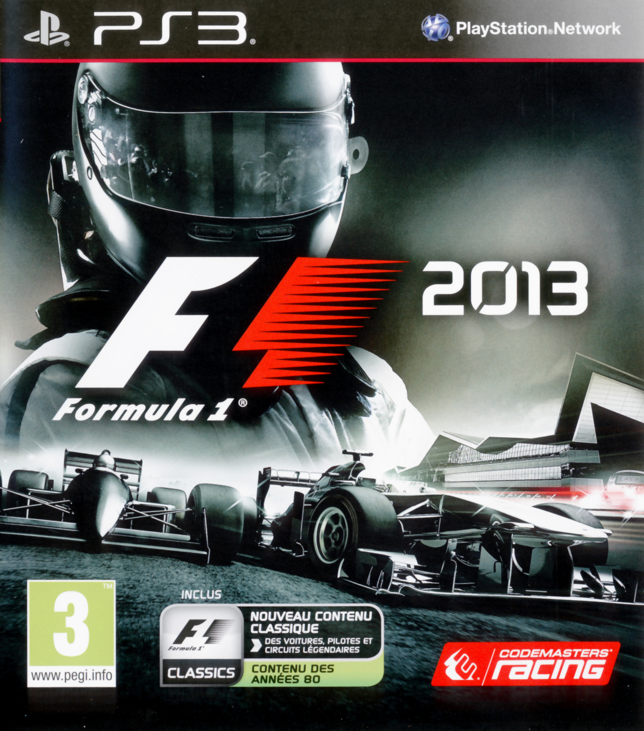 f1 2013 sur playstation 3. Black Bedroom Furniture Sets. Home Design Ideas