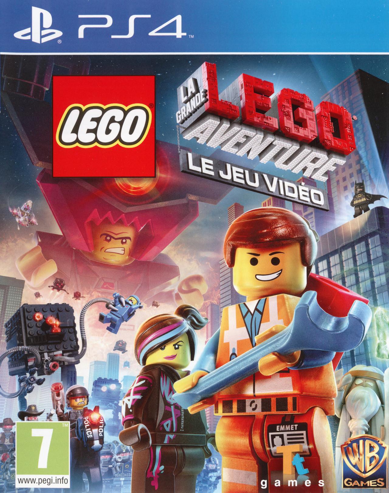 Lego la grande aventure le jeu vid o sur playstation 4 - Jeux de lego sur jeux info ...
