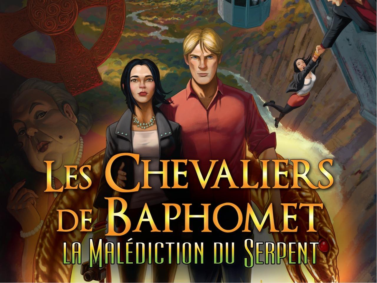 """Résultat de recherche d'images pour """"Les Chevaliers de Baphomet : La malédiction du Serpent Switch"""""""