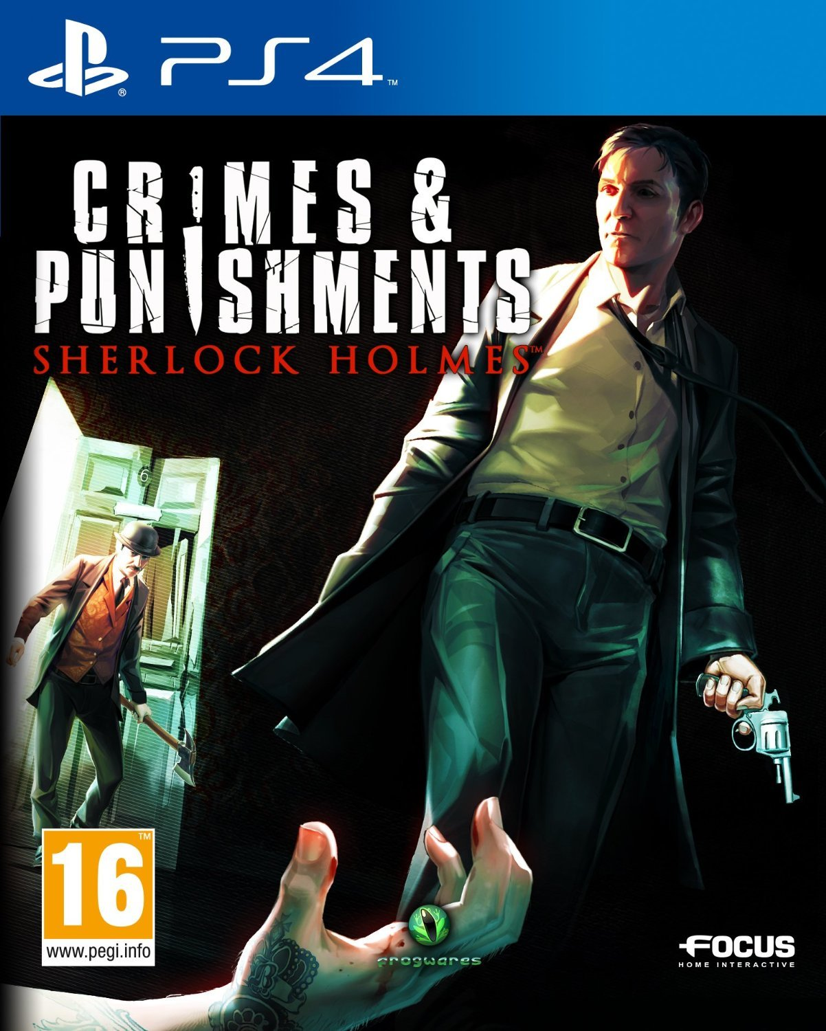 sherlock holmes crimes punishments sur playstation 4. Black Bedroom Furniture Sets. Home Design Ideas