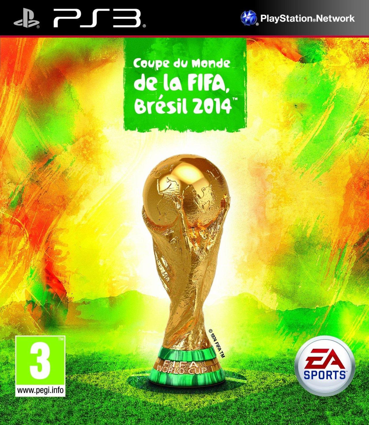 Coupe du monde de la fifa br sil 2014 sur playstation 3 - Jeux de football coupe du monde 2014 ...