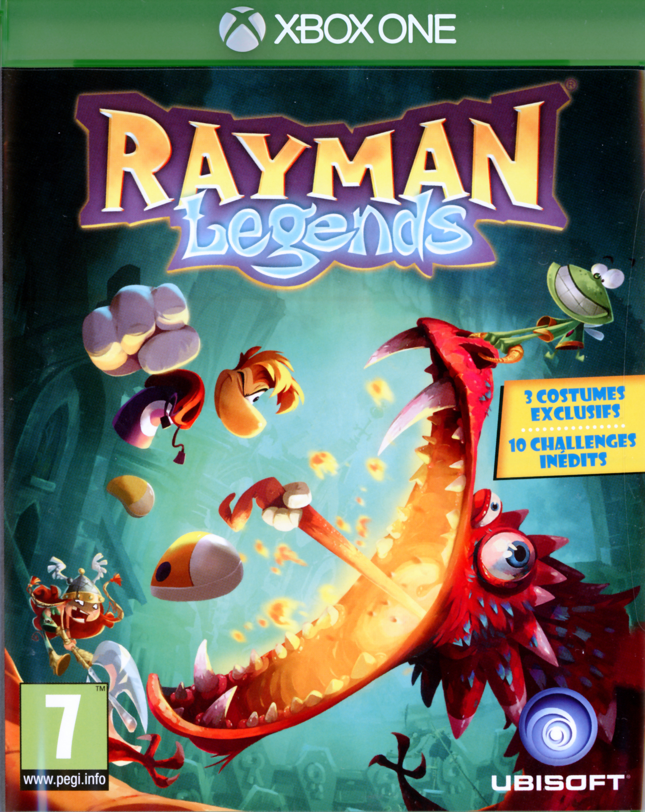 rayman legends sur xbox one. Black Bedroom Furniture Sets. Home Design Ideas
