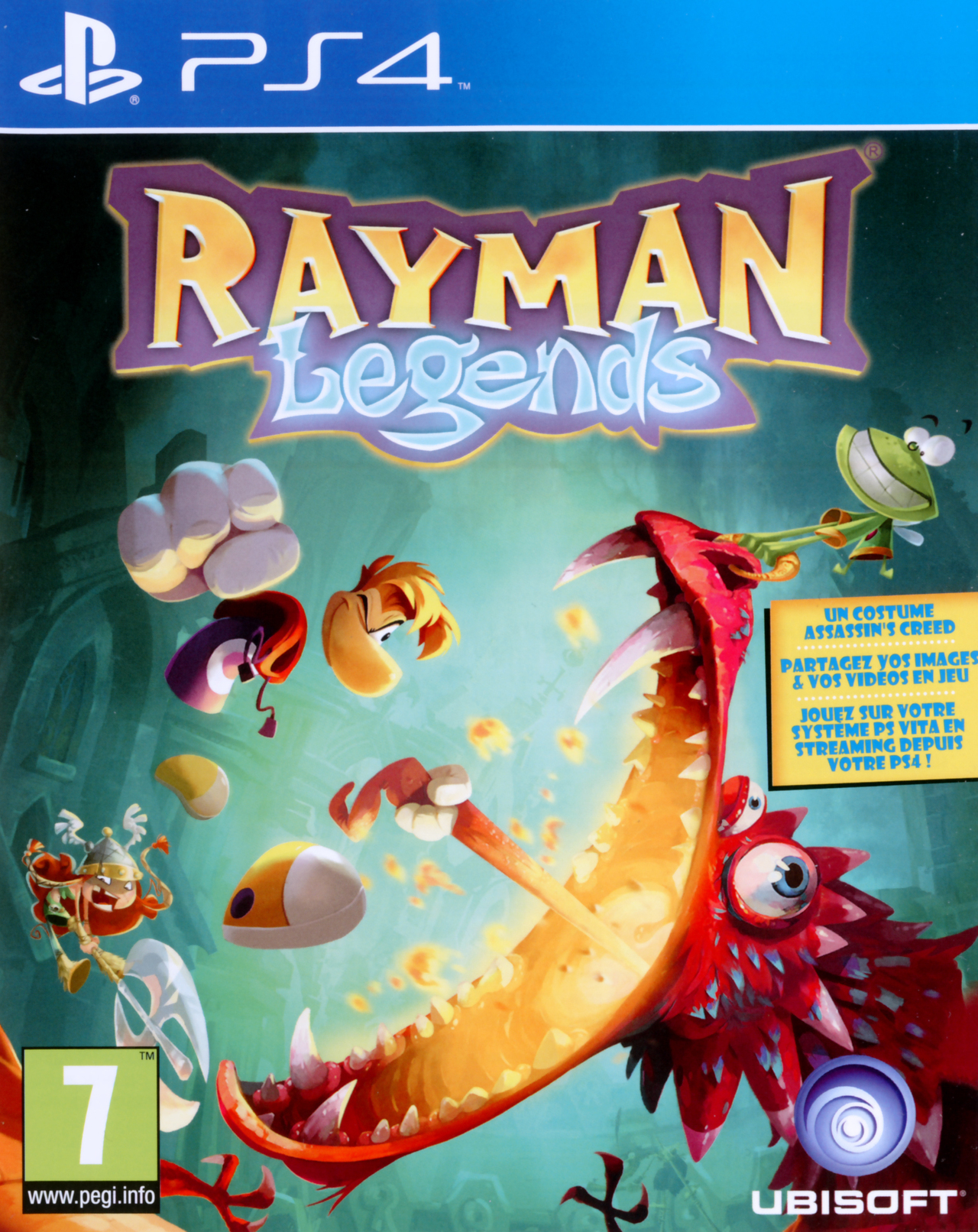 rayman legends sur playstation 4. Black Bedroom Furniture Sets. Home Design Ideas