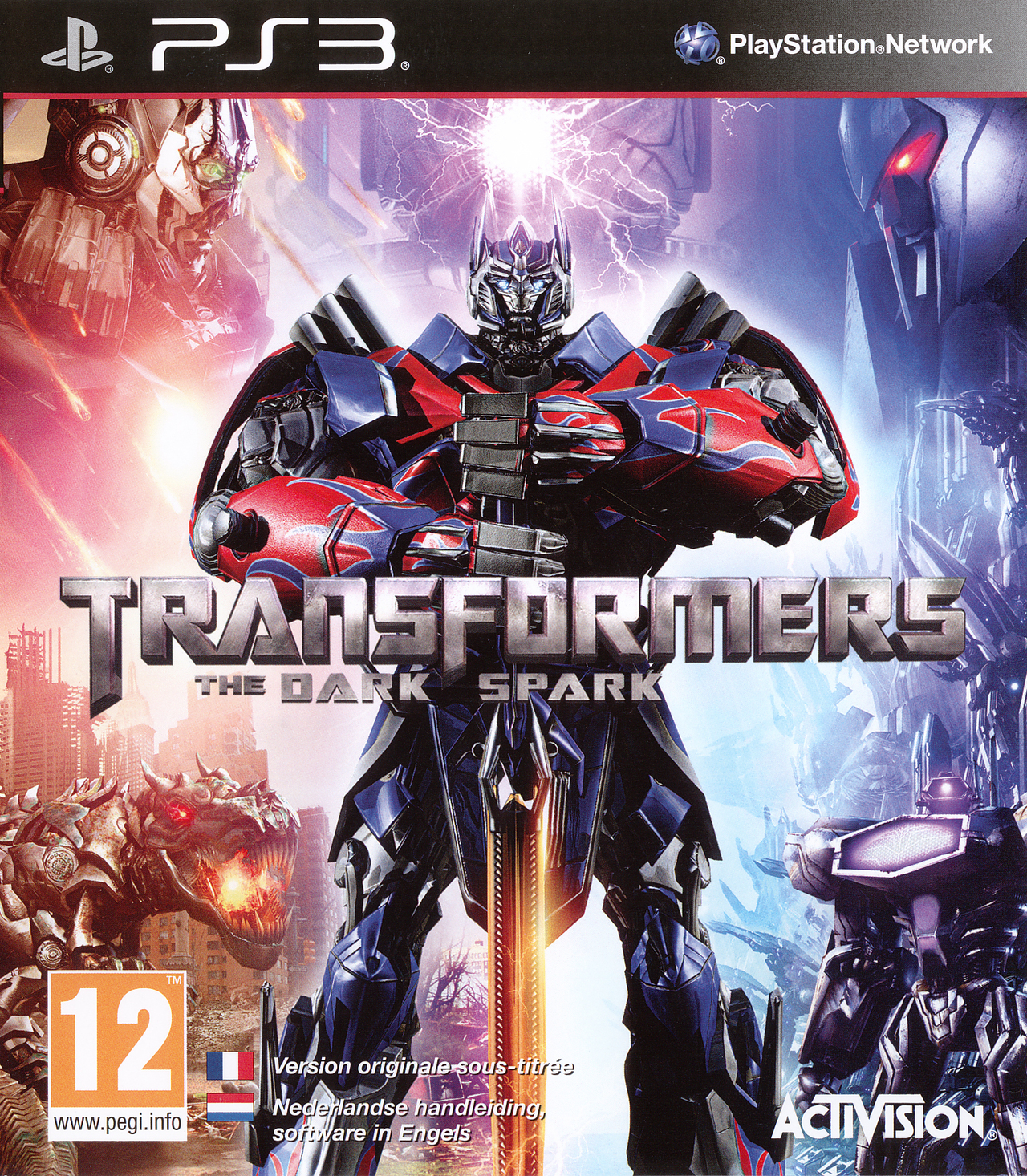 Transformers : Rise of the Dark Spark sur PlayStation 3 - jeuxvideo.com