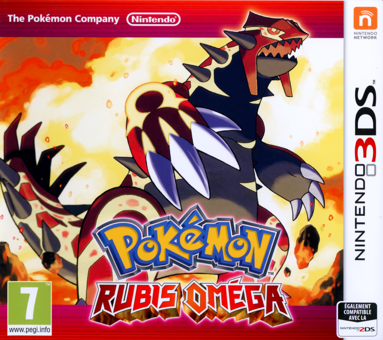 Pok mon rubis omega sur nintendo 3ds - Pokemon version rubis evolution ...