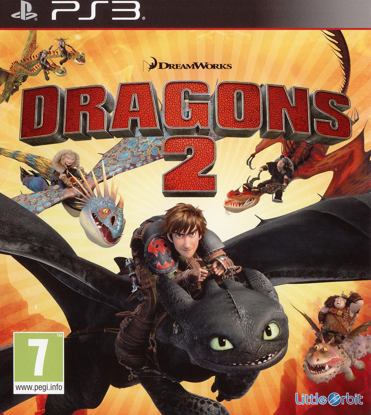 dragons 2 sur playstation 3. Black Bedroom Furniture Sets. Home Design Ideas
