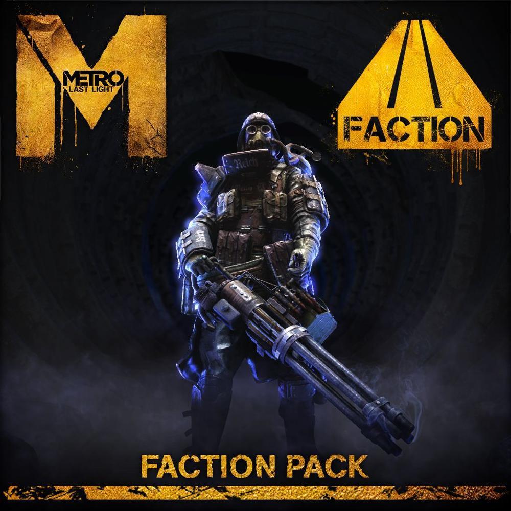 metro last light faction pack sur playstation 3. Black Bedroom Furniture Sets. Home Design Ideas