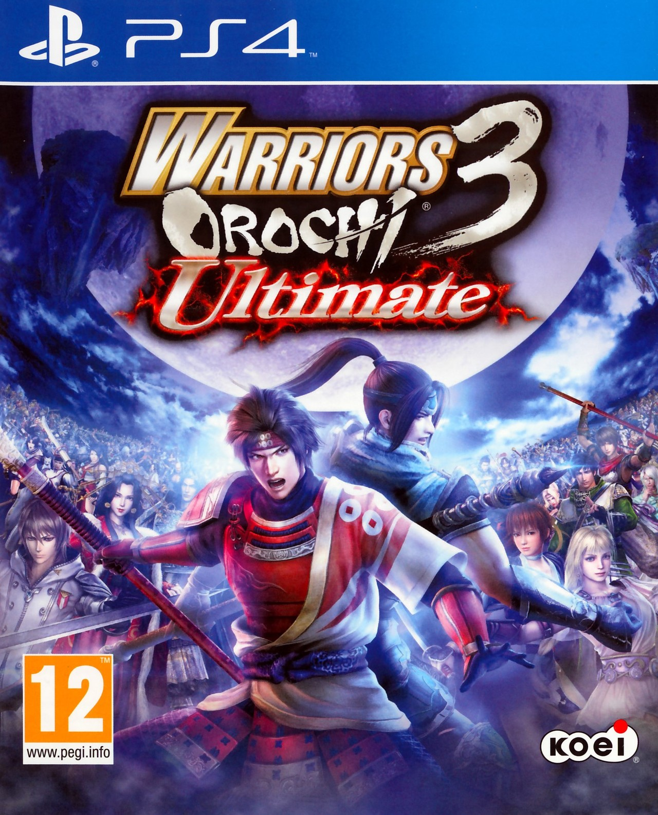 Warriors Orochi 3 Ultimate Sur PlayStation 4