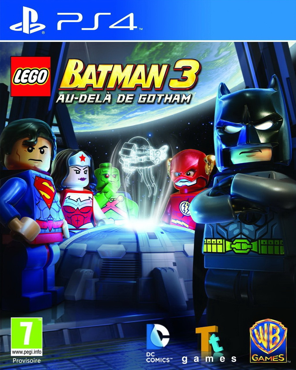 lego batman 3 au del de gotham sur playstation 4. Black Bedroom Furniture Sets. Home Design Ideas
