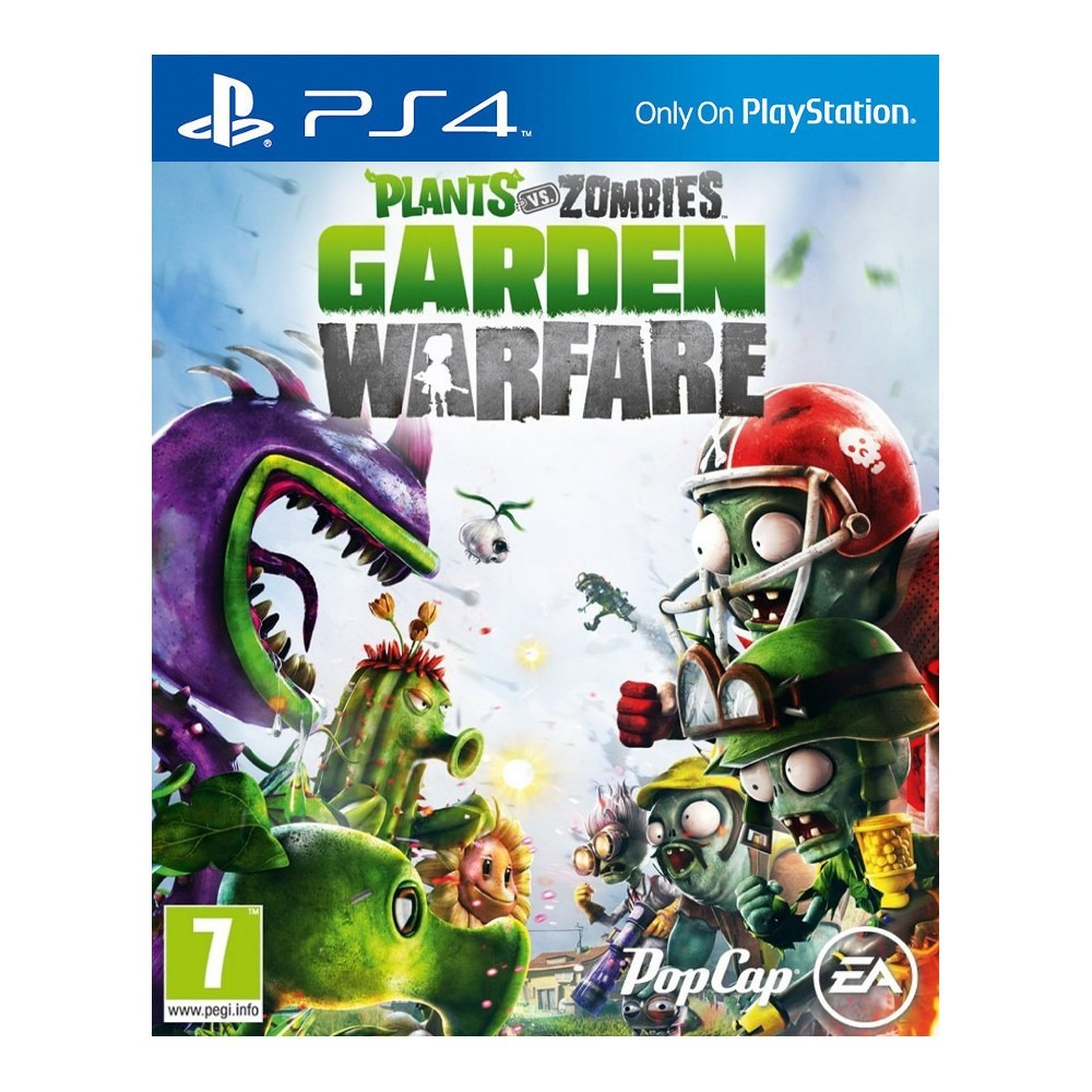 Plants vs zombies garden warfare sur playstation 4 for Plante vs zombie garden warfare 2