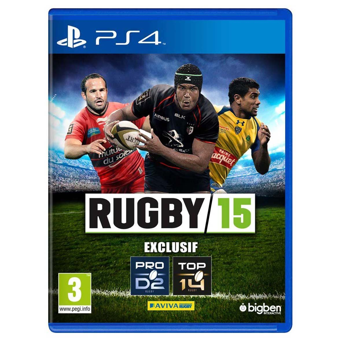 rugby 15 sur playstation 4. Black Bedroom Furniture Sets. Home Design Ideas