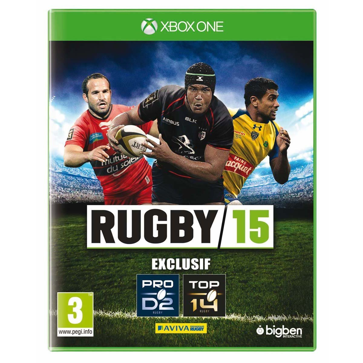 rugby 15 sur xbox one. Black Bedroom Furniture Sets. Home Design Ideas