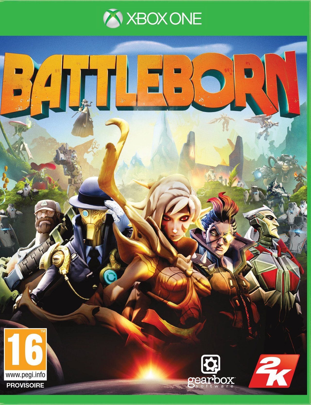 Book Cover Pictures Xbox One : Battleborn sur xbox one jeuxvideo