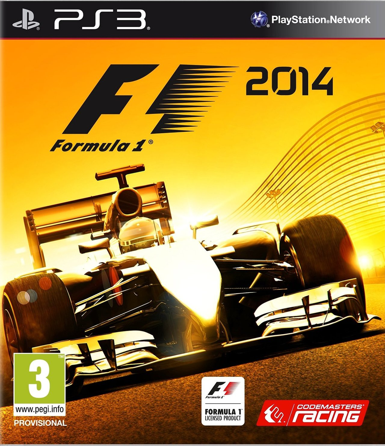 f1 2014 sur playstation 3. Black Bedroom Furniture Sets. Home Design Ideas