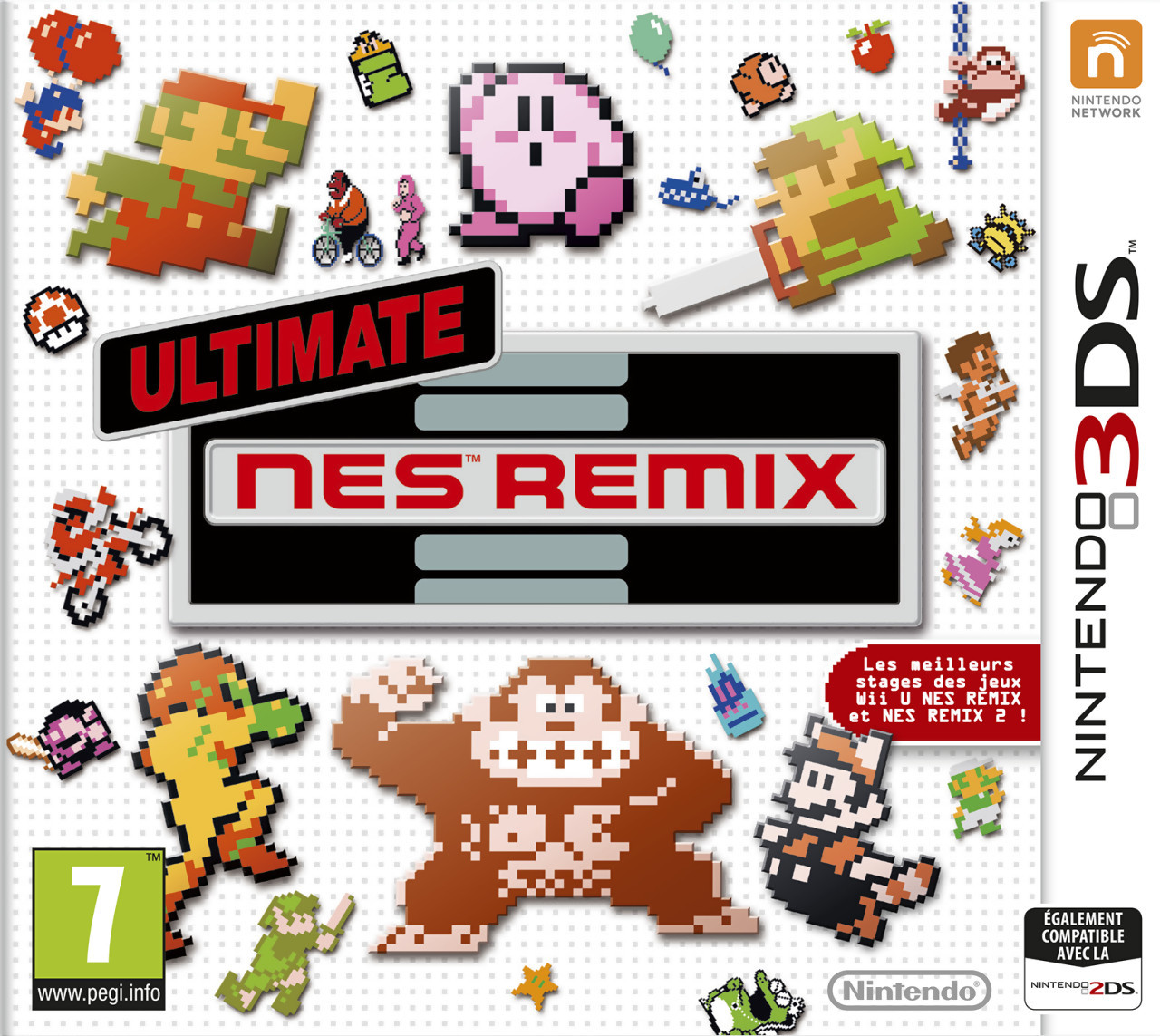 ultimate nes remix sur nintendo 3ds. Black Bedroom Furniture Sets. Home Design Ideas