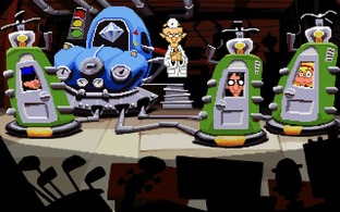 Test Day of the Tentacle Mac - Screenshot 1