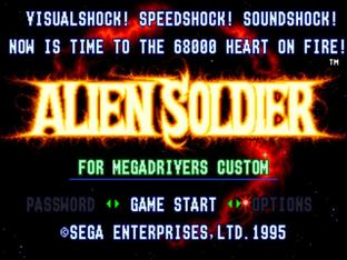Test Alien Soldier Megadrive - Screenshot 19