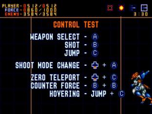 Test Alien Soldier Megadrive - Screenshot 20