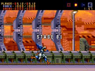 Test Alien Soldier Megadrive - Screenshot 21