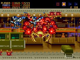 Test Alien Soldier Megadrive - Screenshot 22