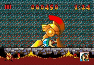 Astérix and the Great Rescue Megadrive