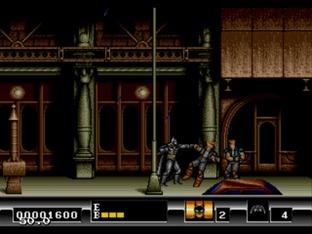 Test Batman Megadrive - Screenshot 17