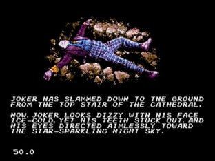 Test Batman Megadrive - Screenshot 55