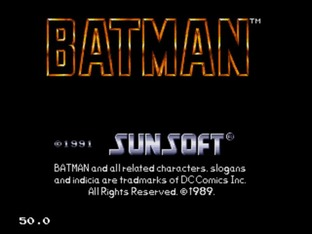 Test Batman Megadrive - Screenshot 57