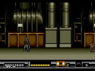 Test Batman Megadrive - Screenshot 62
