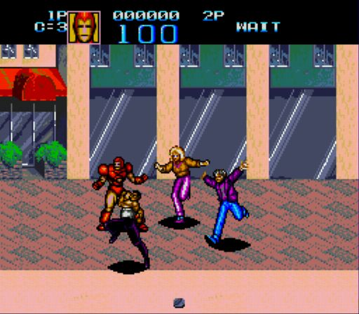 jeuxvideo.com Captain America and the Avengers - Megadrive Image 14