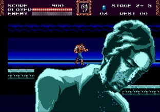 Test Castlevania : The New Generation Megadrive - Screenshot 3
